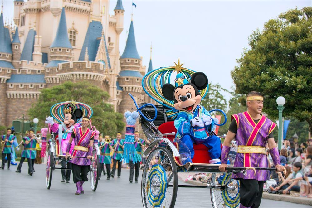 東京ディズニーランド「七夕グリーティング」(イメージ) (c)Disney