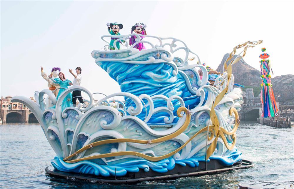 東京ディズニーシー「七夕グリーティング」(イメージ) (c)Disney