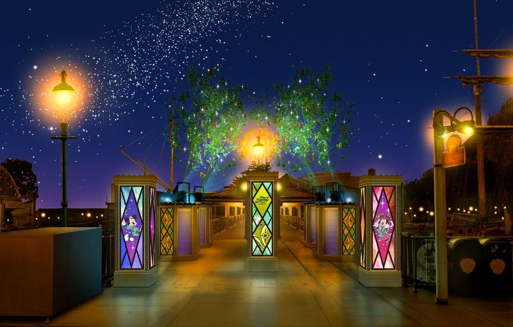 東京ディズニーシー デコレーション(イメージ) (c)Disney