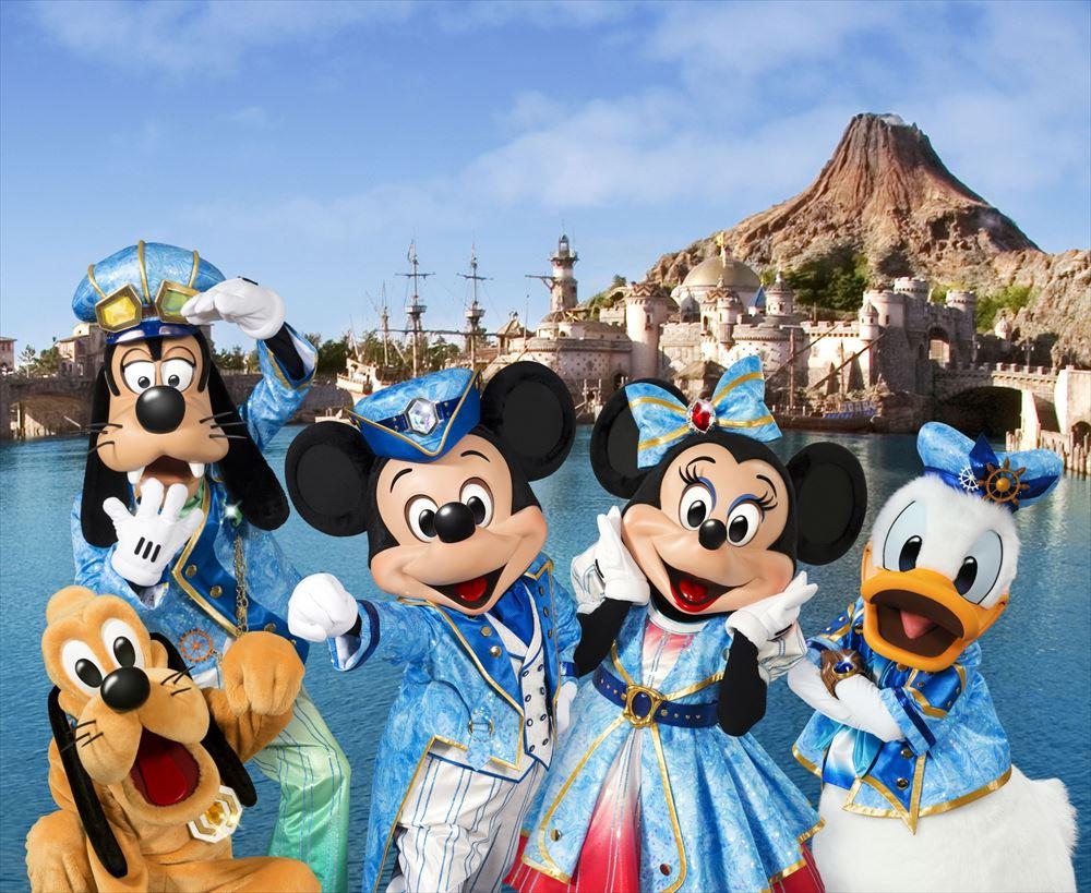 """東京ディズニーシー15周年""""ザ・イヤー・オブ・ウィッシュ"""" (c)Disney"""