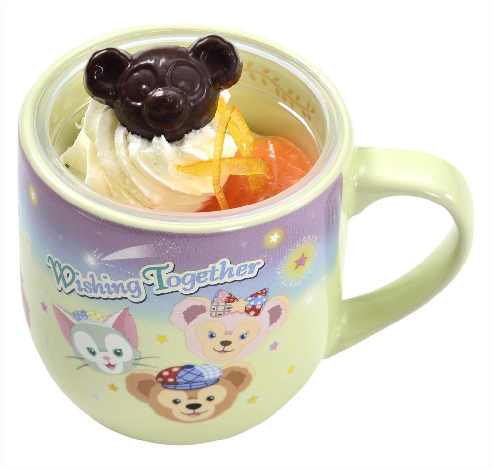 オレンジムース(チーズケーキ入り)スーベニアカップ付き 880円 (c)Disney