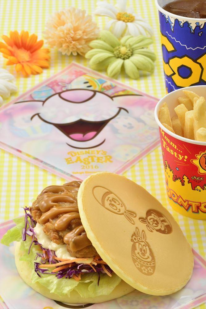 スペシャルセット 990円(ヒューイ・デューイ・ルーイのグッドタイム・カフェ ) (c)Disney