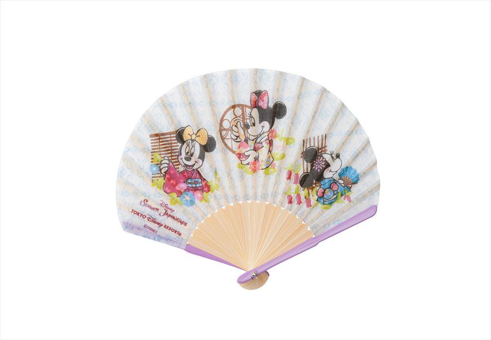 扇子 2400円 (c)Disney