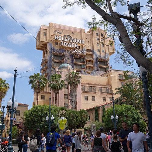 ディズニー・カリフォルニア・アドベンチャー版タワー・オブ・テラー
