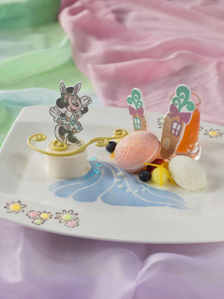 「ドリーマーズ・ラウンジ」キャラクターデザート(前期) (c)Disney