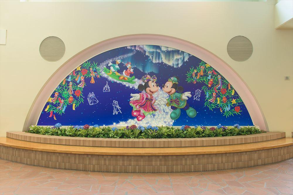 リゾートゲートウェイ・ステーションのフォトスポット(イメージ) (c)Disney