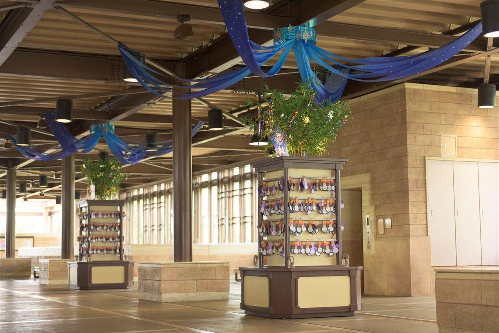 東京ディズニーシー・ステーションの ウィッシングプレイス (イメージ) (c)Disney