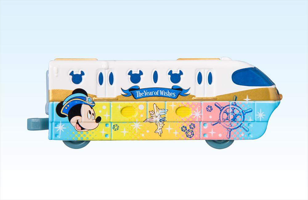 オリジナルデザイン ディズニーリゾートライントミカ 先頭車両 (c)Disney