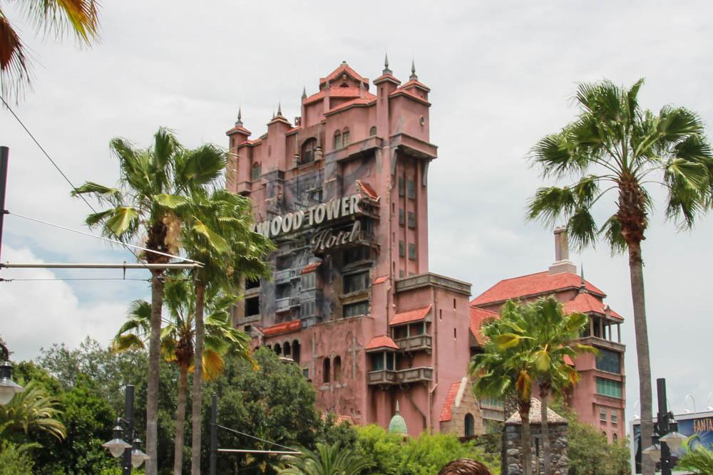ディズニー・ハリウッドスタジオの元祖「トワイライト・ゾーン タワー・オブ・テラー」