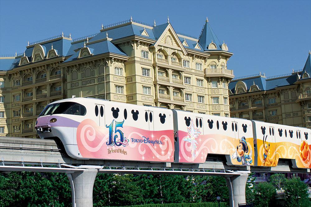 モノレール外装(パープル) (c)Disney