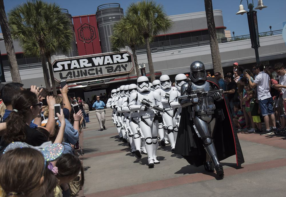 Stormtroopers March at Disney's Hollywood Studios (c)Disney