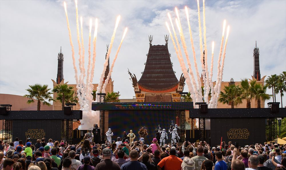 Star Wars: A Galaxy Far, Far Away Stage Show at Disney's Hollywood Studios (c)Disney