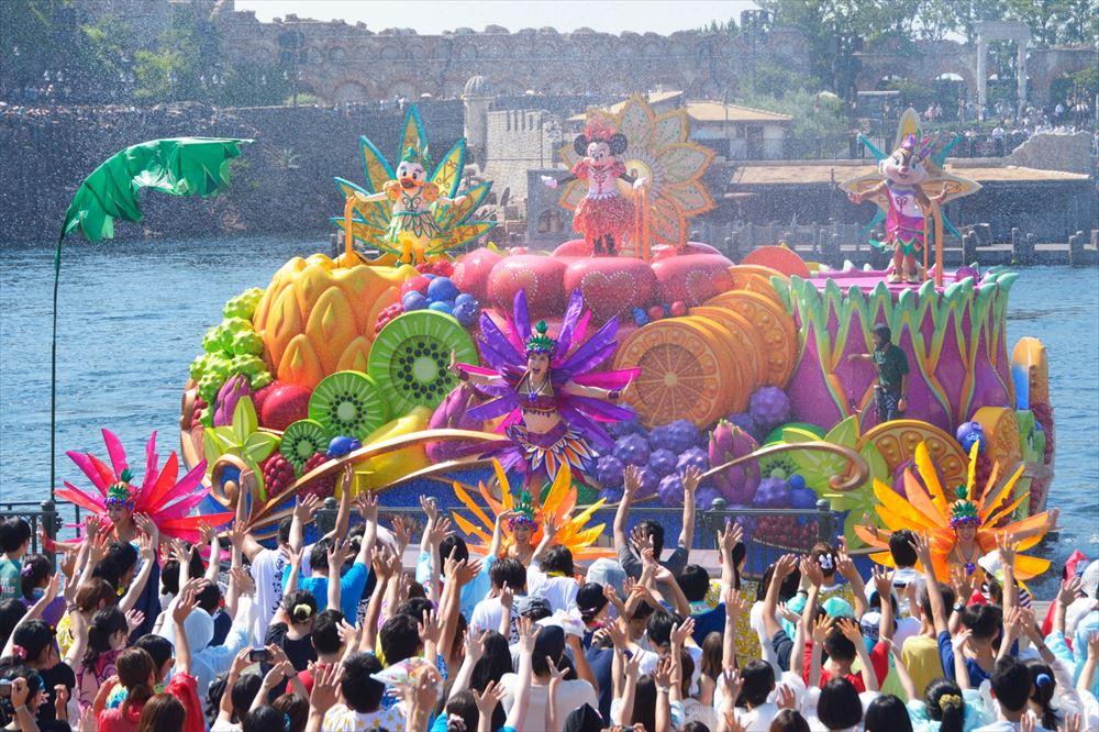 ミニーのトロピカルスプラッシュ(イメージ) (c)Disney