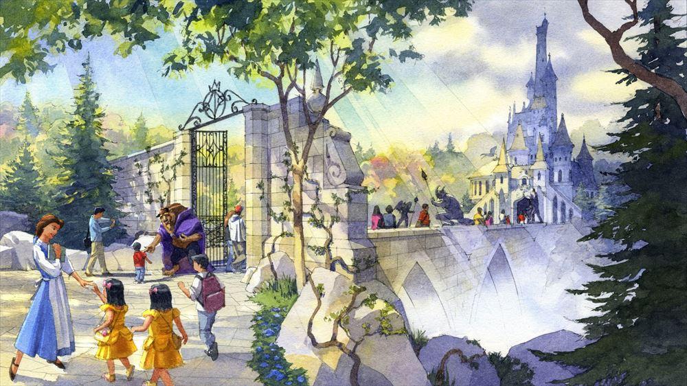 大型アトラクションの外観 (c)Disney