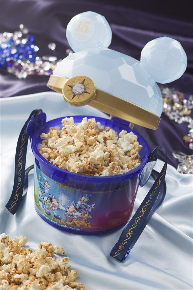 ポップコーン バケット付き 2000円(ポップコーンワゴン) (c)Disney