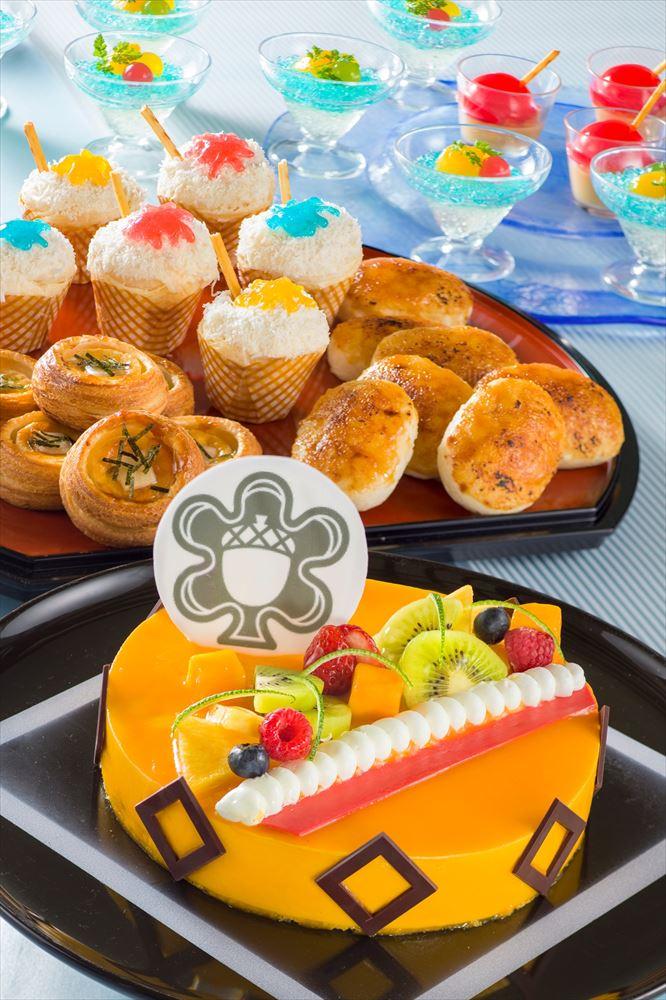 """「シャーウッドガーデン・レストラン」""""ディズニー夏祭り""""ランチブッフェ/ディナーブッフェ(デザート)  (c)Disney"""