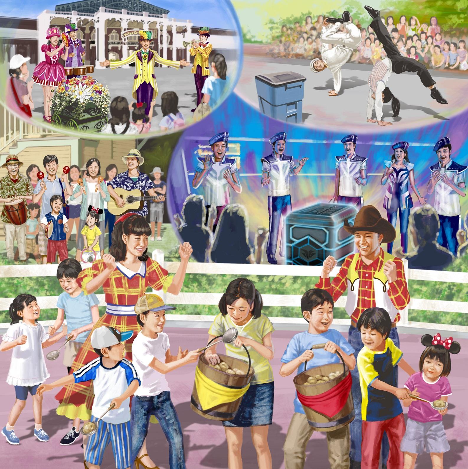 新規アトモスフィア・エンターテイメント(一部)のイメージ (c)Disney