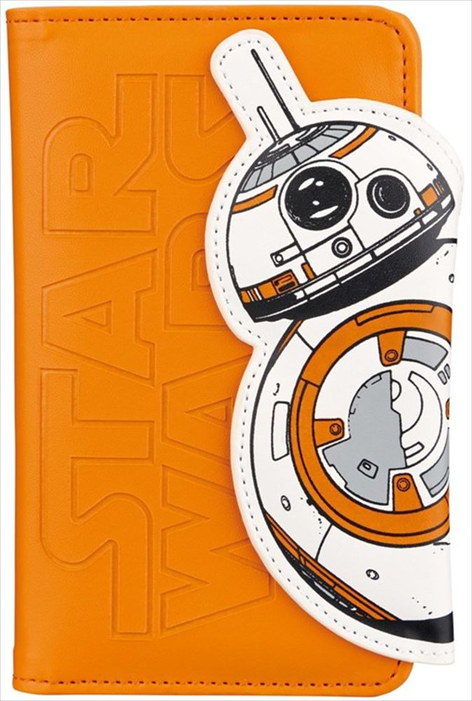 多機種対応 スマホケース・カバー BB-8 3500円(税別)/ディズニーストア TM & © 2016 Lucasfilm Ltd. All rights reserved.  Used under authorization.