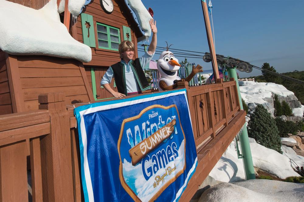 """Frozen"" Games Coming to Disney's Blizzard Beach Water Park (c)Disney"