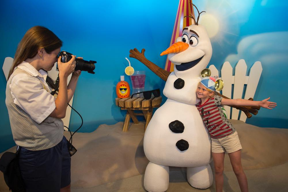 "Olaf from ""Frozen"" Greets Guests at Disney's Hollywood Studios (c)Disney"