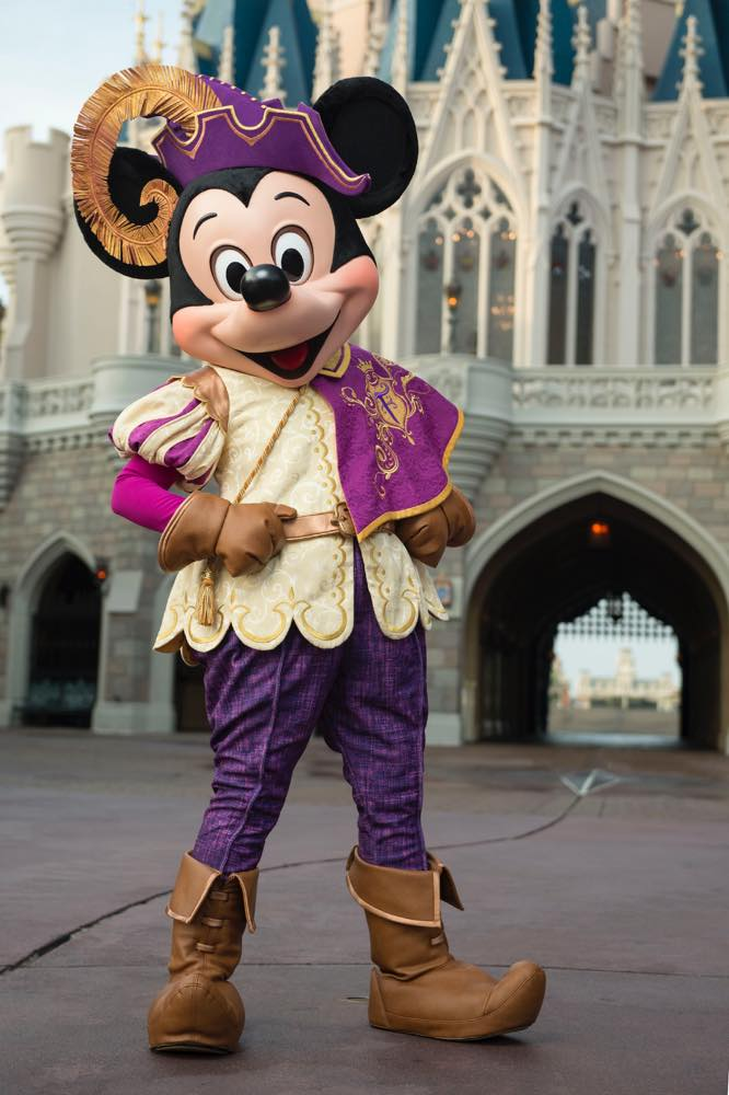 Mickey's Royal Friendship Faire Stage Show at Magic Kingdom Park (c)Disney