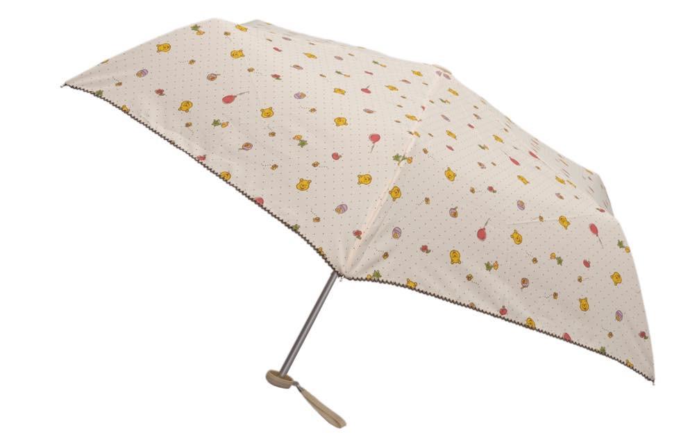 折りたたみ傘 [プーさん柄] 2200円 (c)Disney