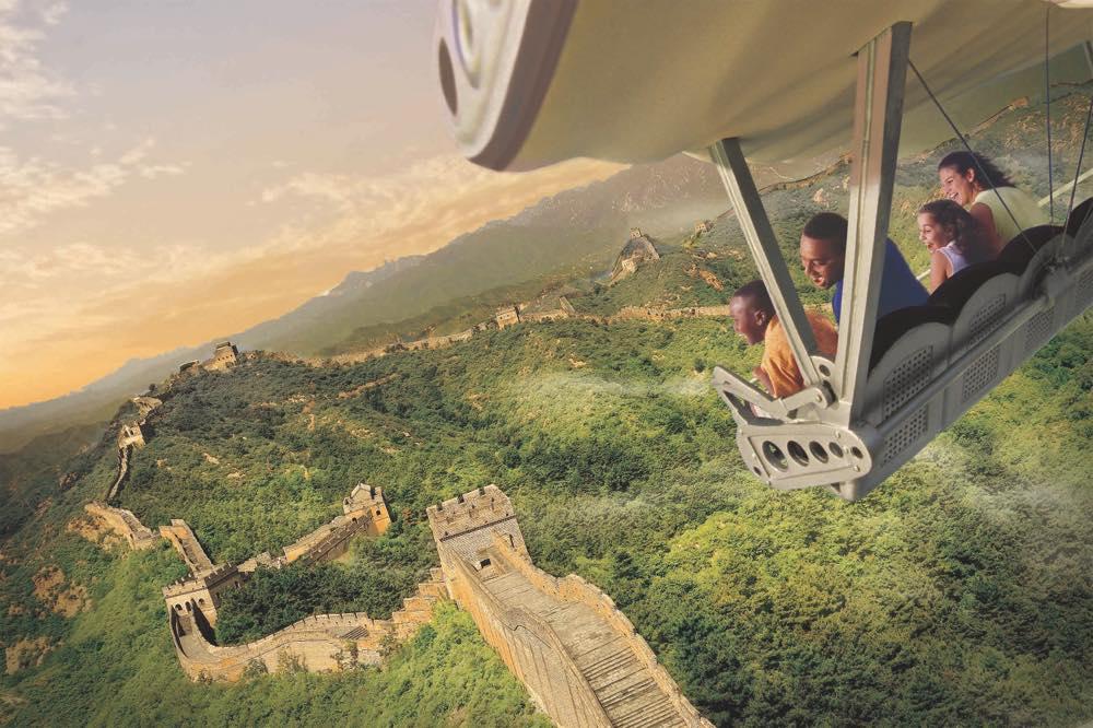 Soarin' Around the World at Epcot (c)Disney