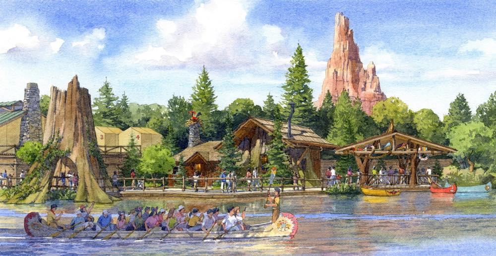 ウッドチャック・グリーティングトレイル(外観イメージ)  (c)Disney