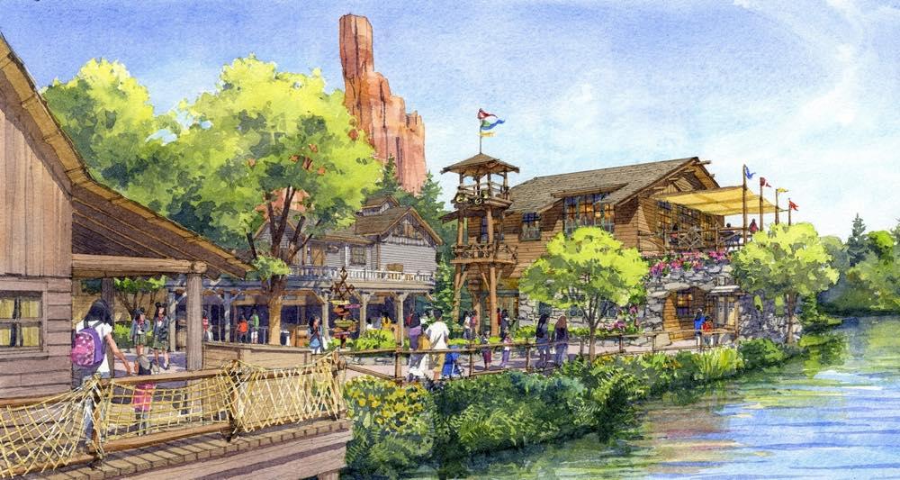 キャンプ・ウッドチャック・キッチン(外観イメージ)  (c)Disney