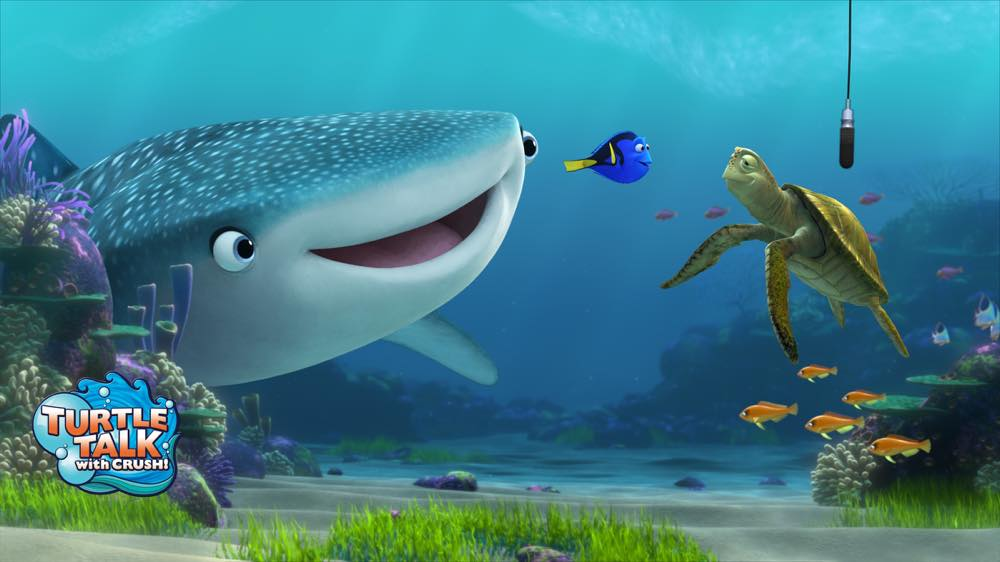"Characters from ""Finding Dory"" Coming to Turtle Talk with Crush (c)Disney"