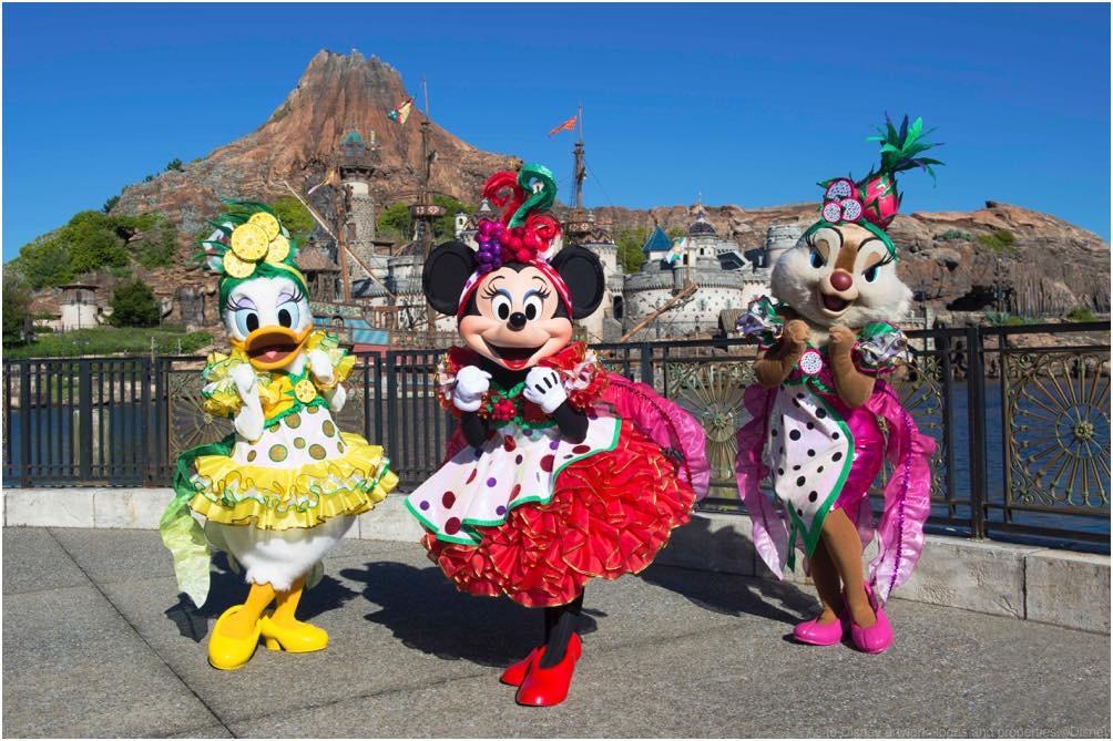 東京ディズニーシー「ミニーのトロピカルスプラッシュ」 (c)Disney