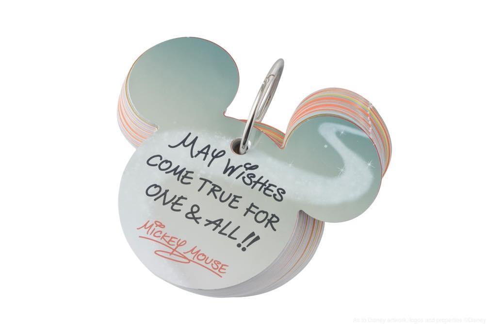 メモ 500円 (c)Disney