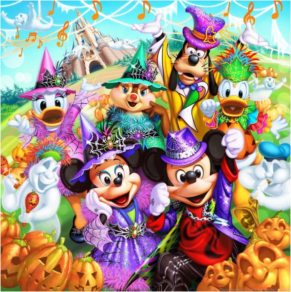 東京ディズニーランド「ディズニー・ハロウィーン」 (イメージ)  (c)Disney