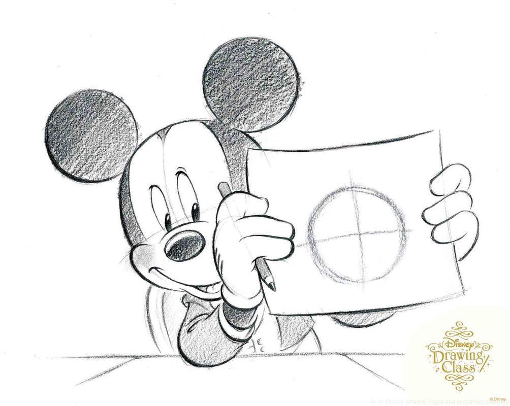 新ドローイングクラスのイラスト完成イメージ  (c)Disney