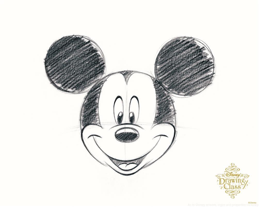 「ミッキーマウス」(通常開講中のスタンダードコースのイラスト) (c)Disney