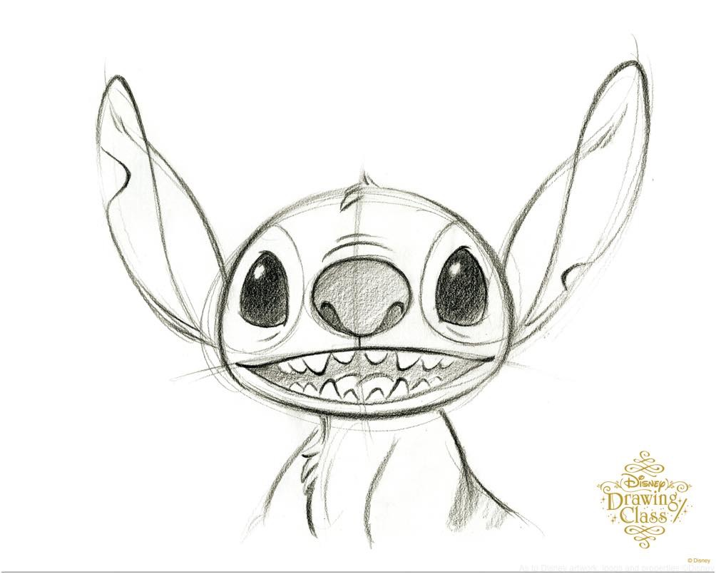 「スティッチ」(通常開講中のスタンダードコースのイラスト) (c)Disney