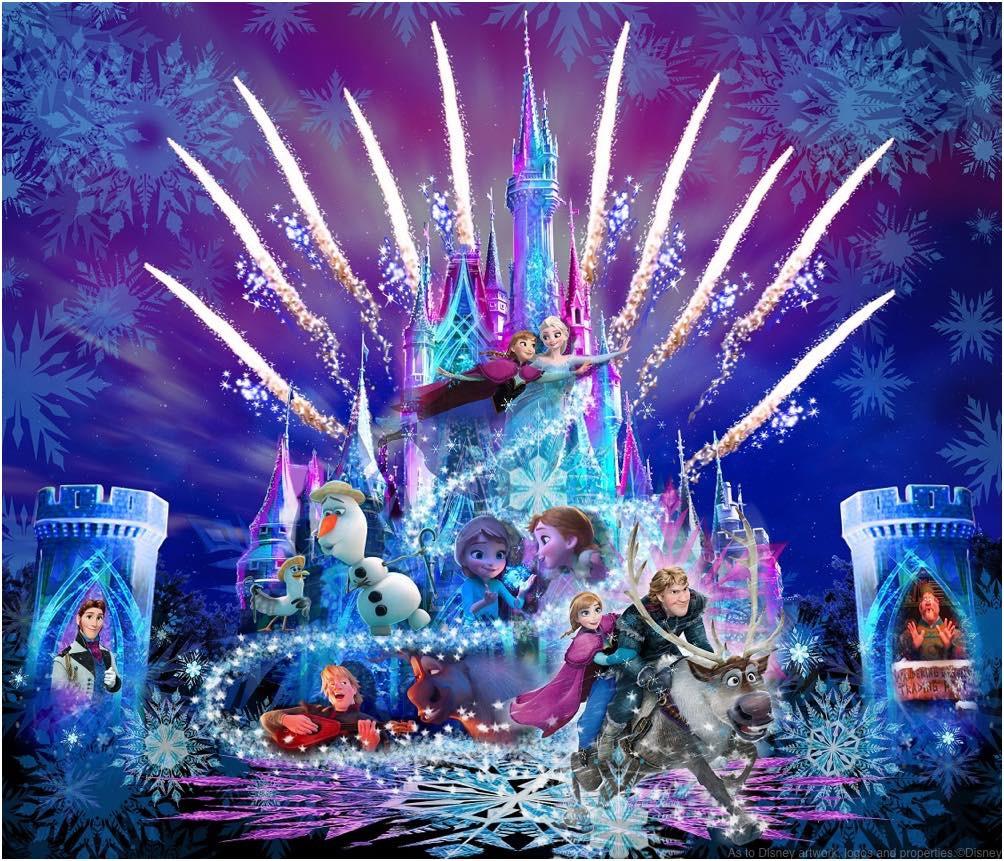 新キャッスルプロジェクション「フローズン・フォーエバー」(イメージ) (c)Disney