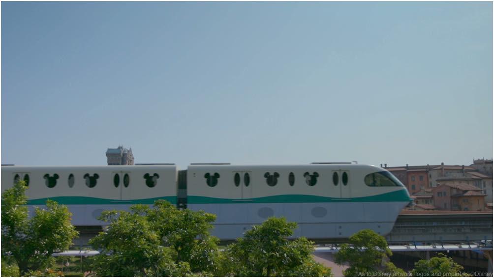 ディズニーリゾートライン 15周年/Disney Resort Line 15th Anniversaryより (c)Disney