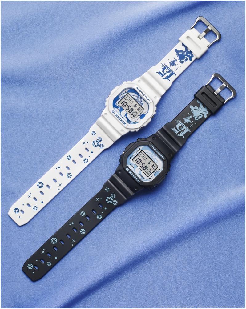 スペシャルウォッチ (G-SHOCK) WHITE・BLACK 各2万円 販売店舗:エンポーリオ (c)Disney