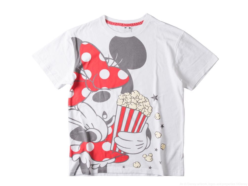 X-girl Tシャツ/カラー:ホワイト/サイズ:フリーサイズ/価格:7500円 (c)Disney