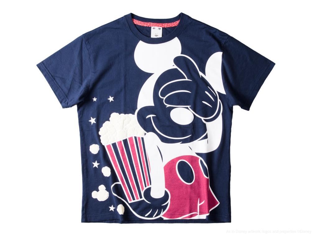 X-girl Tシャツ/カラー:ネイビー/サイズ:フリーサイズ/価格:7500 円 (c)Disney