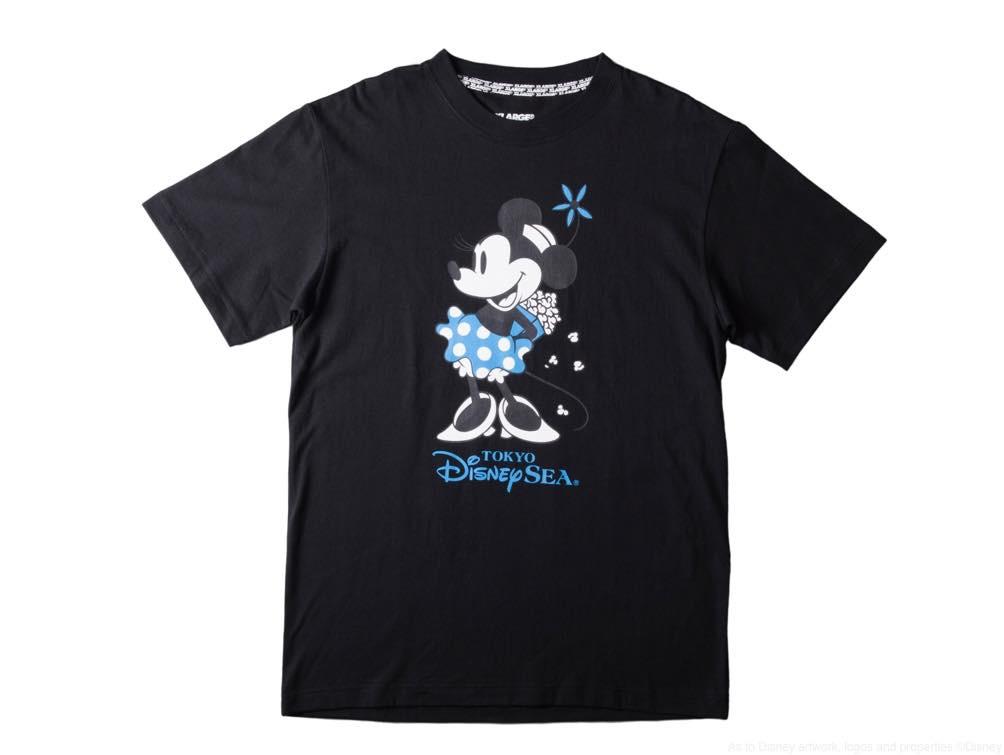 XLARGE Tシャツ/カラー:ブラック・ホワイト/サイズ:M・L/価格:6900円 (c)Disney