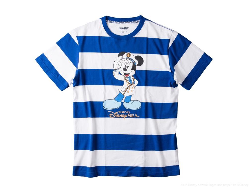 X-girl Tシャツ/カラー:ホワイト・ブラック/サイズ:フリーサイズ/価格:7900円 (c)Disney