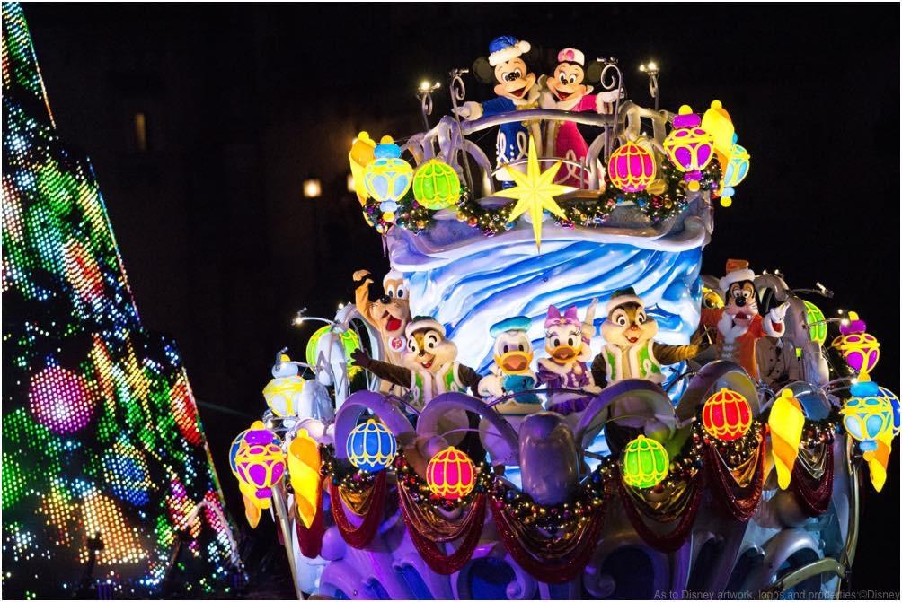 カラー・オブ・クリスマス~ナイトタイム・ウィッシュ~ (イメージ) (c)Disney