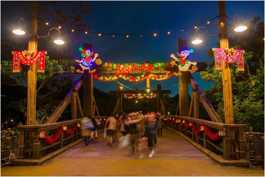 ロストリバーデルタの「フィエスタ・デ・ラ・ルース」デコレーション (c)Disney