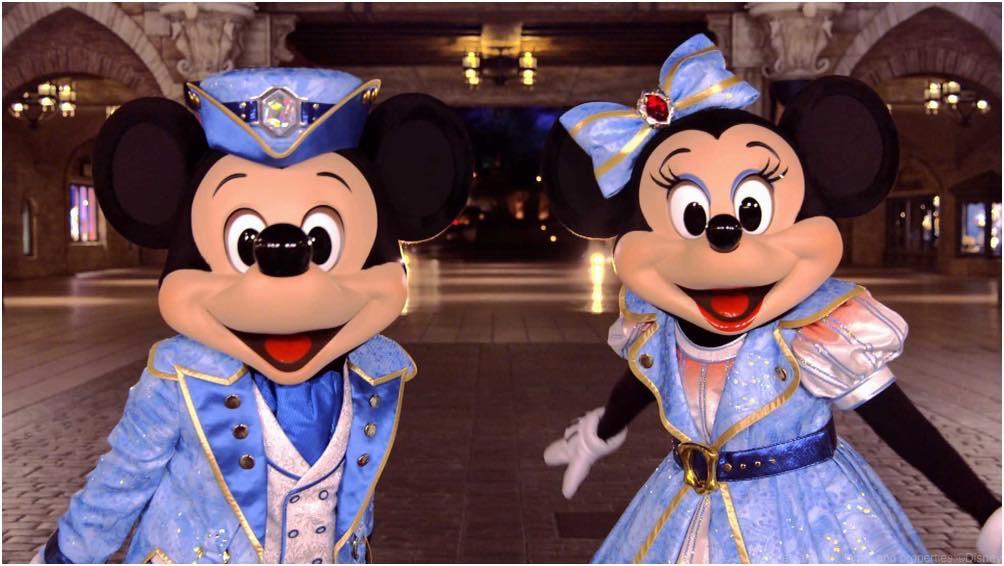 タイムラプス動画より (c)Disney