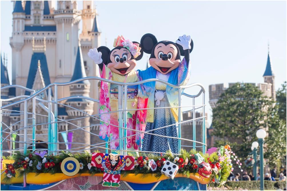 お正月のプログラム (c)Disney