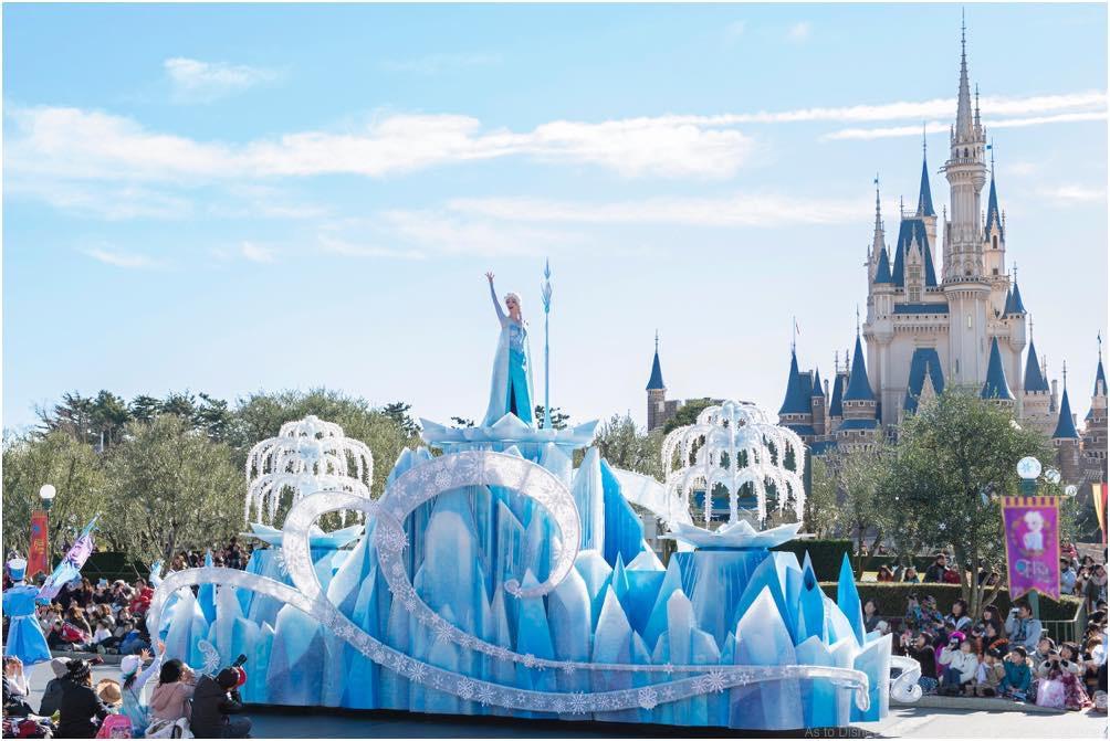 フローズンファンタジーパレード (c)Disney