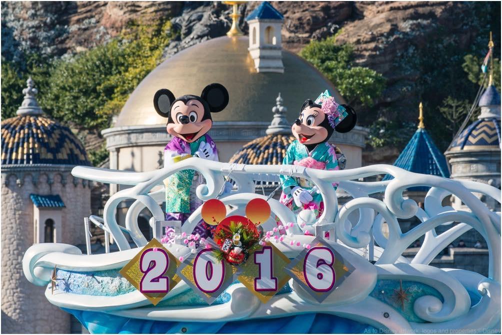 東京ディズニーシー「ニューイヤーズ・グリーティング」(イメージ) (c)Disney