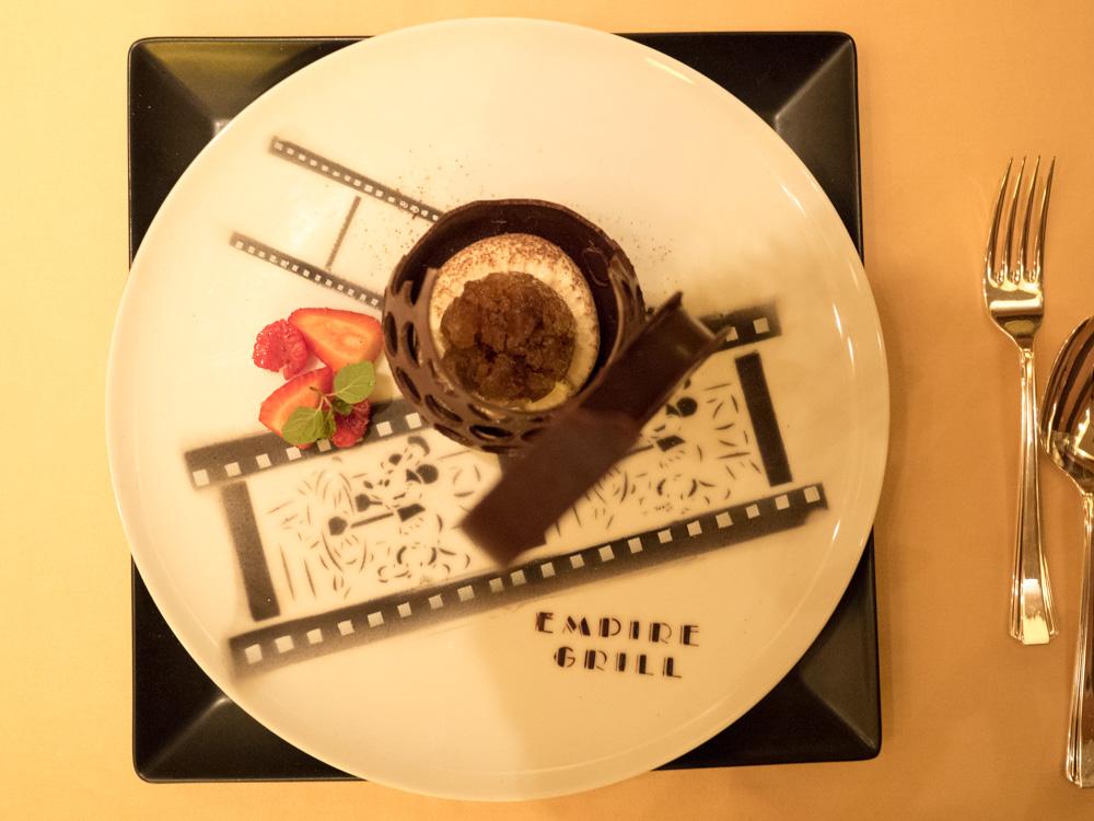 ティラミスとエスプレッソコーヒーのグラニテ
